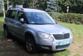 Skoda Yeti - samochód Straży Miejskiej zostaje wystawiony na sprzedaż-49759