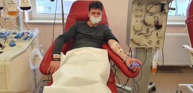Procedura oddawania osocza jest nieco dłuższa niż przy oddawaniu krwi-50055