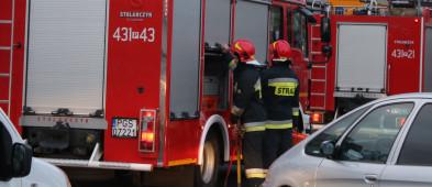 Zepsuta pralka przyczyną pożaru? Straty sięgają 10 tys. zł. Mógł spłonąć cały dom-50093