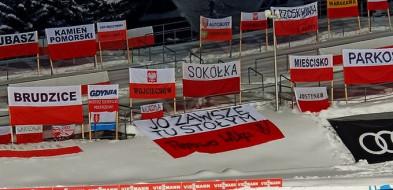 """""""Wiocha"""" na całą Polskę. Incydent pod Wielką Krokwią w Zakopanem. Z Pępowa-50530"""
