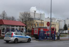 Pożar w mleczarni, ewakuowano część załogi. Straty mogą sięgać miliona zł...-51516
