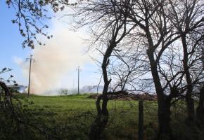Pożar na terenie zespołu klasztornego... Wiadomo co poszło z dymem w Głogówku-51780