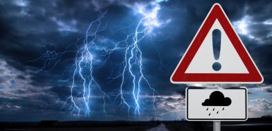 Prognozowane są burze, lokalnie może spaść także  grad-52139
