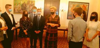 Przedstawiciele MRM Gostynia gościli wPałacu Prezydenckim.-52213
