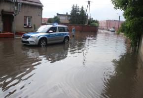 Nie tylko Piaski zalało. Strażacy mieli wczoraj pełne ręce roboty. Wiemy gdzie...-52267
