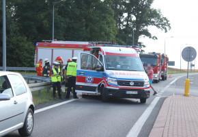 Silnik zgasł, auto stanęło na środku drogi. Wtedy uderzył w nie rozpędzony Citroen-52550