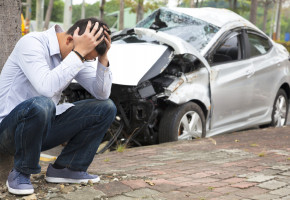 """Mogli przez to zginąć! """"Upalony"""" 18-latek nie był w stanie zapanować nad autem-52612"""