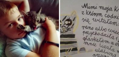 """9-letni Nikodem napisał w liście, jak bardzo tęskni za """"Mimi""""-52659"""