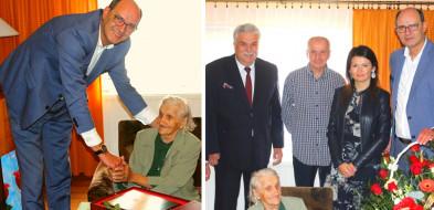 Jubileusz setnych urodzin świętowała Pani Marianna Nawrocka-53265