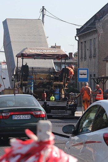 Remont na ul. Jana Pawła II w Gostyniu-8842