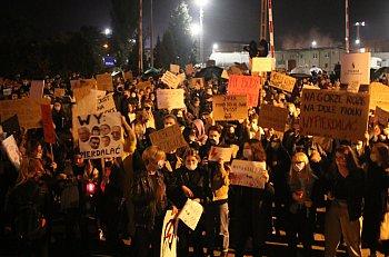 Kolejny protest kobiet na ulicach Gostynia-8874