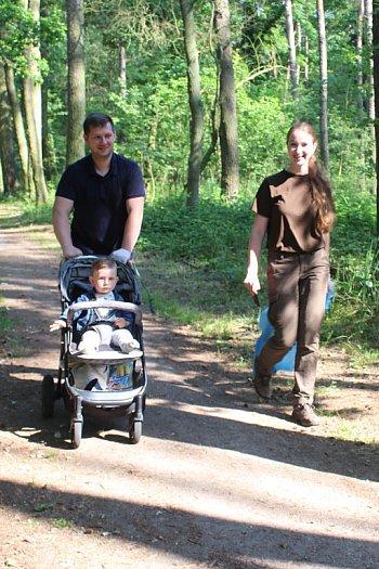 Akcja sprzątania podgostyńskiego lasu-9067