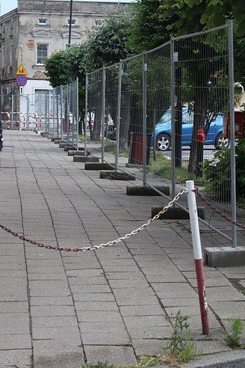 Zamknięty rynek w Krobi-9071
