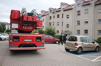 Akcja służb ratunkowych w bloku przy ul. Górnej-9114