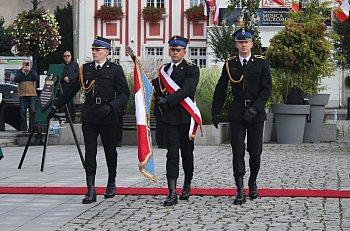 Nadanie i przekazanie sztandaru KP PSP Gostyń-9211