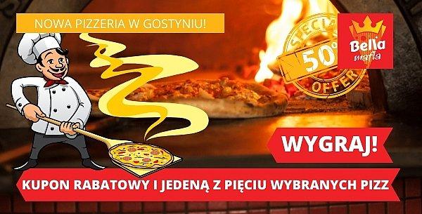 Nowa pizzeria Bella Mafia Gostyń, zaprasza na konkurs z nagrodami i rabatem!-41