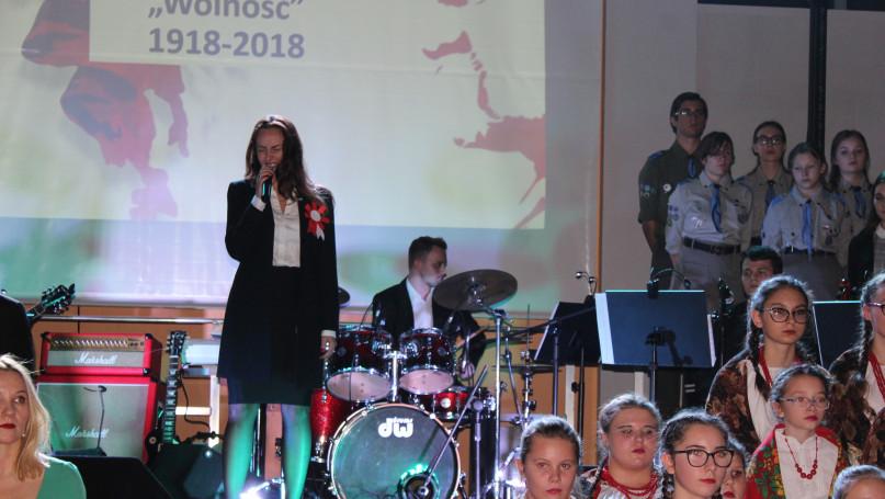 Poniec - Wyjątkowy koncert z okazji 100-lecia odzyskania przez Polskę niepodległości