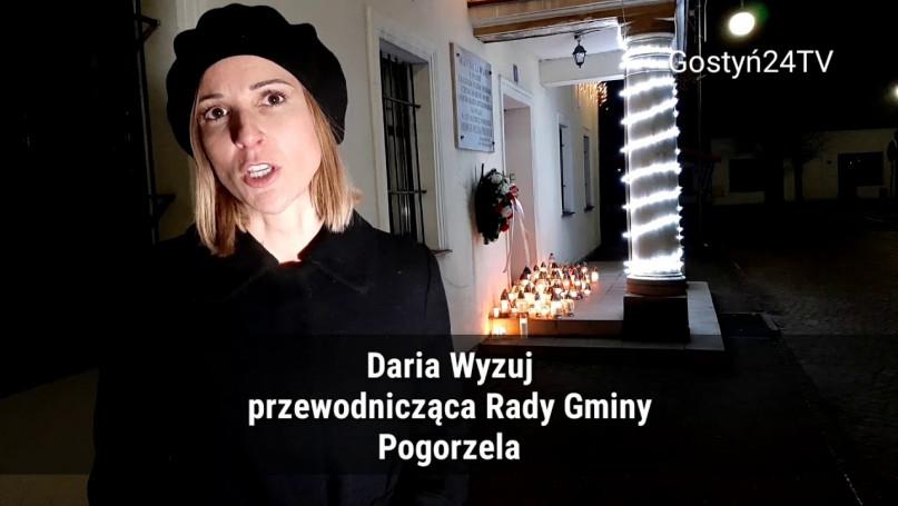 Mieszkańcy Pogorzeli protestowali przeciwko mowie nienawiści