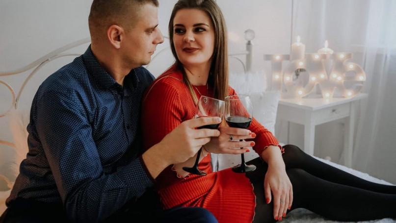 Kasia i Waldek doskonale bawili się na swojej randce marzeń