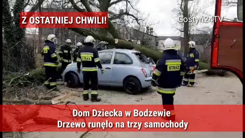 Wypadek na terenie Domu Dziecka w Bodzewie