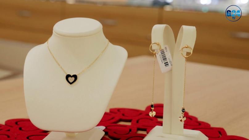 """Gostyn24 z wizytą w Salonie Jubilerskim \""""Trinity\"""" Sprawdzamy, co najlepiej kupić na Walentynki."""