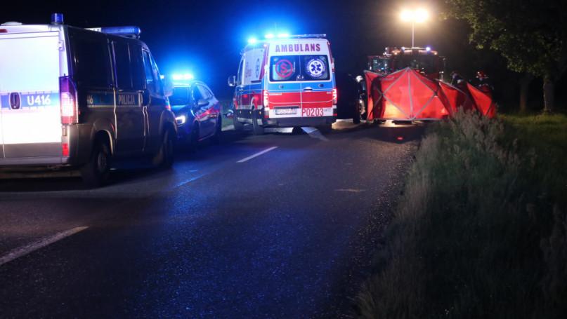 Poważny wypadek pod Pogorzelą