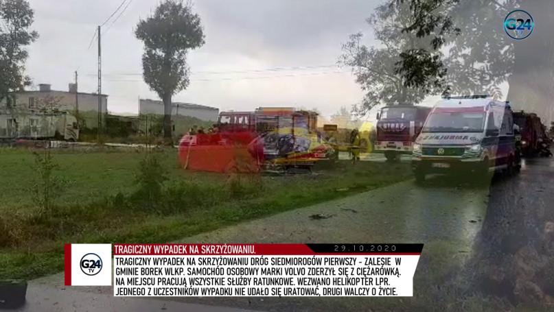 Tragiczny wypadek w gm. Borek Wlkp