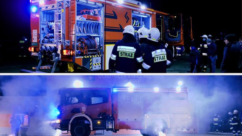 Nowy, długo wyczekiwany wóz strażacki dla jednostk