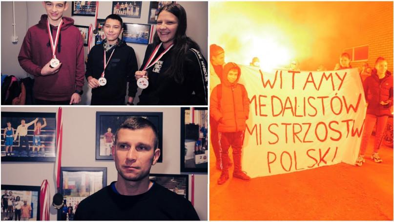 Najlepszy klub bokserski w Polsce w najmłodszej gr