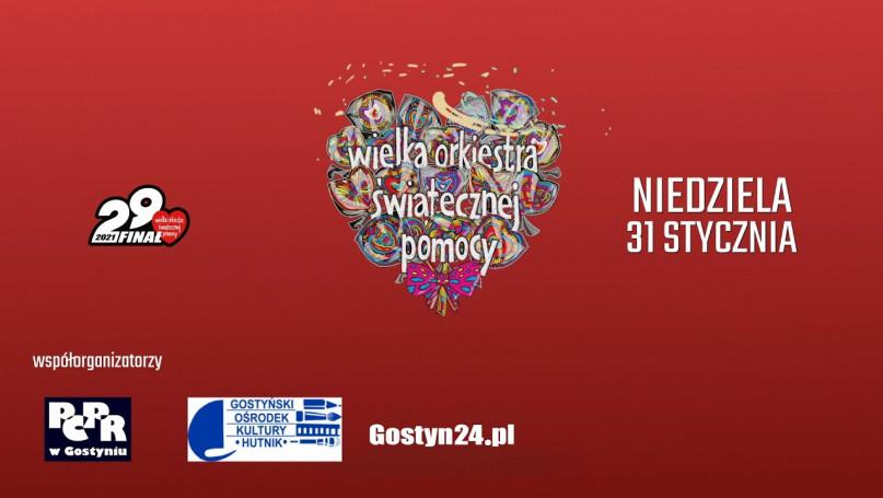 29.Finał WOŚP LIVE na Gostyn24! Licytuj zestawy gadżetów już dziś!