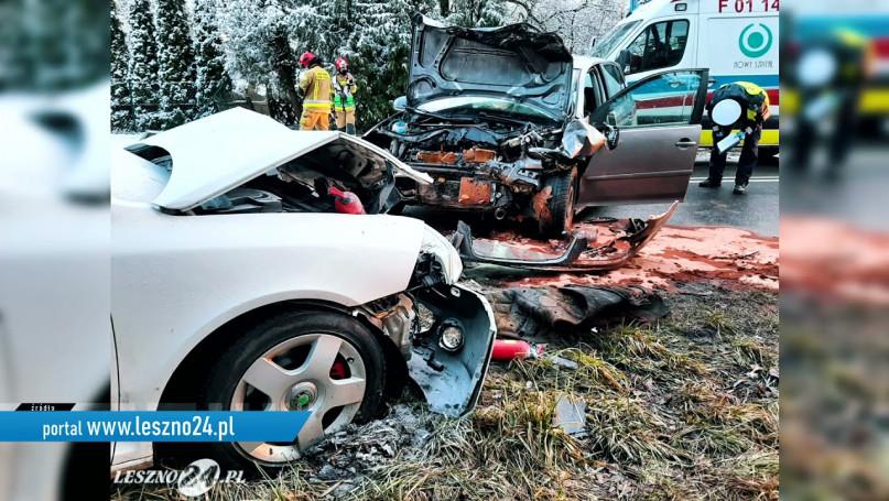 Pierwszy ruszył z pomocą ofiarom wypadku.