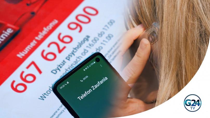 Telefon zaufania wsparciem dla osób z Gostynia dot