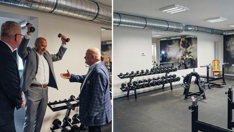 Ogólnodostępna siłownia w Borku Wlkp. już otwarta.