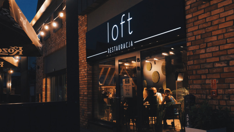 """Restauracja \""""Loft\"""" – kolejna na mapie Gostynia, kulinarna wizytówka miasta"""