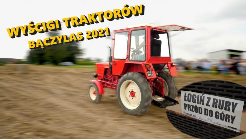 Wyścigi traktorów w Bączylesie!