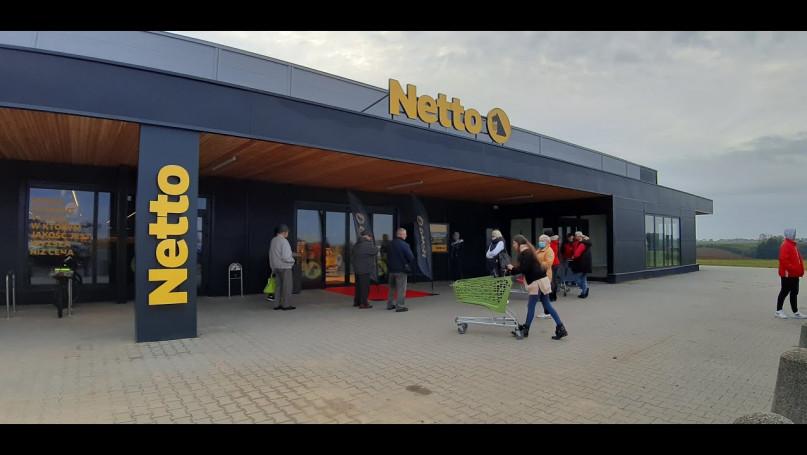 Otwarcie nowego marketu w Gostyniu - pierwsi klien